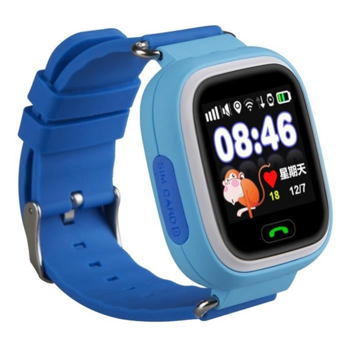 Test Kiwip watch concurrence Q90 enfant wifi GPS
