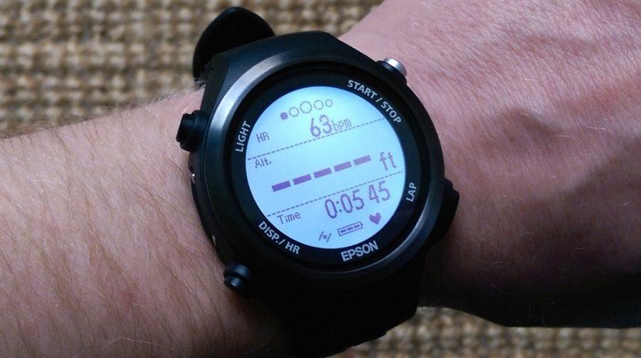 Epson SF-810 montre cardio connectée