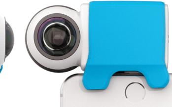 [Vidéo] Giroptic iO : Filmez vos instants préférés à 360 degrés