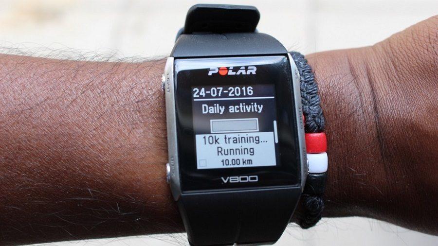 polar v800 montre cardio connectée