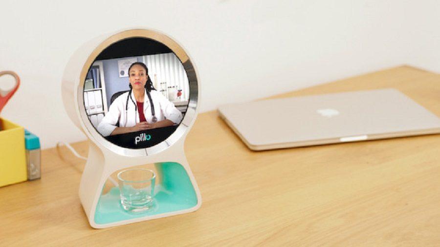 pillo robot domestique médecin