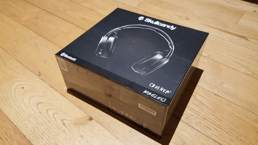 test skullcandy crusher wireless unboxing packaging