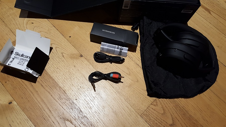 test skullcandy crusher wireless unboxing câbles
