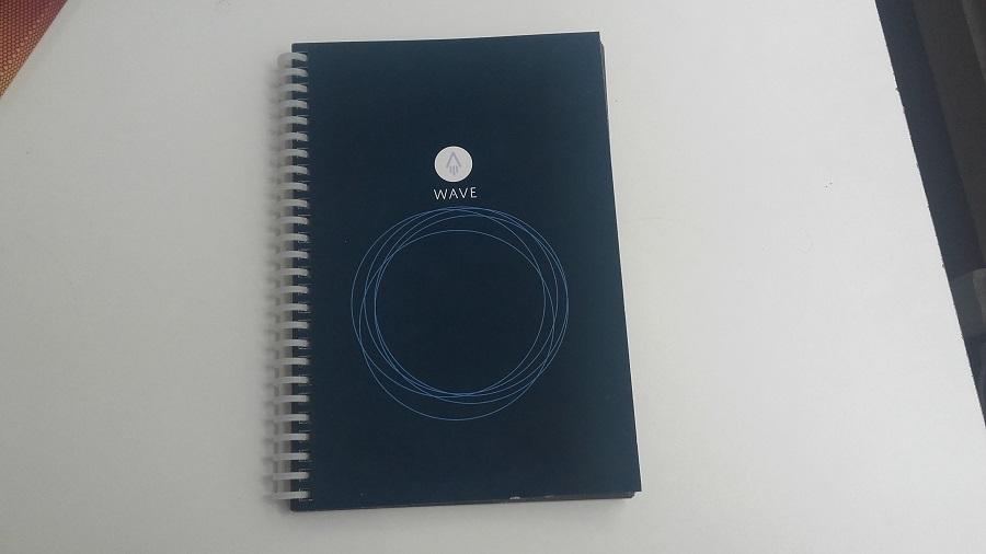 test rocketbook cahier connecté design et ergonomie avant