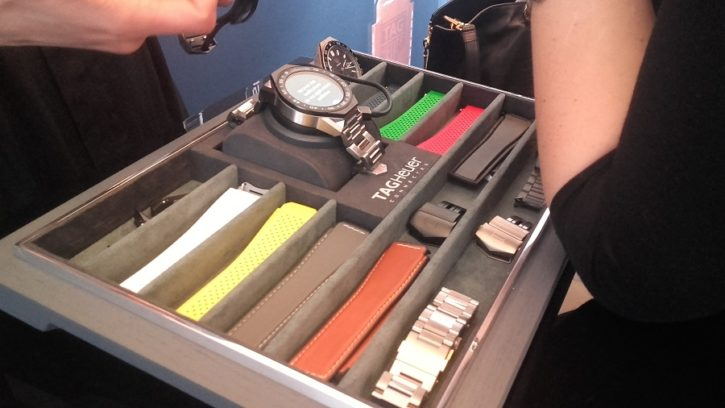 Tag Heuer Connected Modular 45 intel android 2.0 choix bracelets