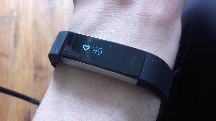 test fitbit alta hr utilisation rythme cardiaque