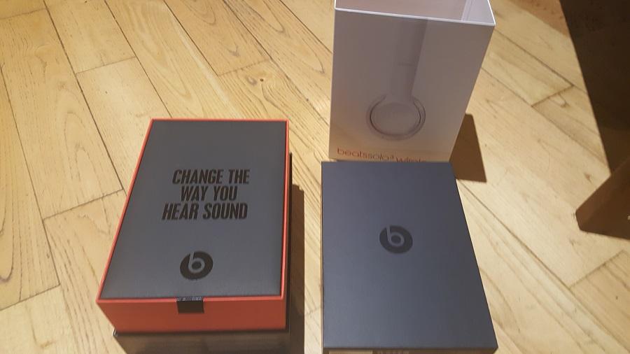 Casque Beats Solo 3 Wireless Unboxing déballage
