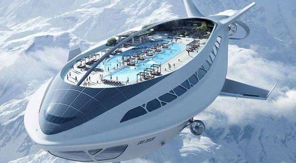 dassault futuristic air cruiseship