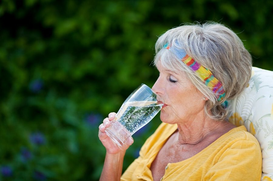 hydratation de la peau
