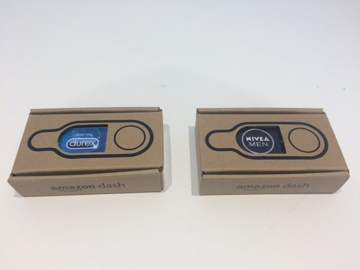 dash button amazon test unboxing packaging