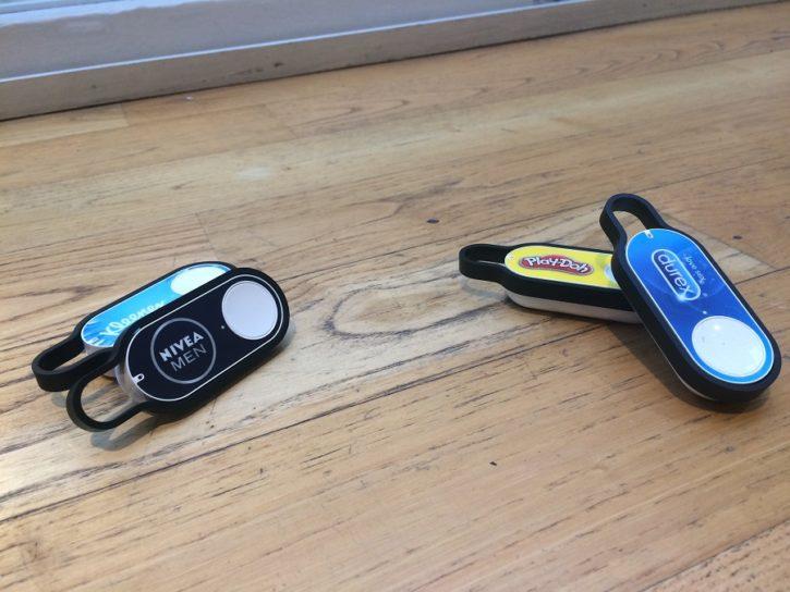 dash button amazon test design ergonomie nivea kleenex