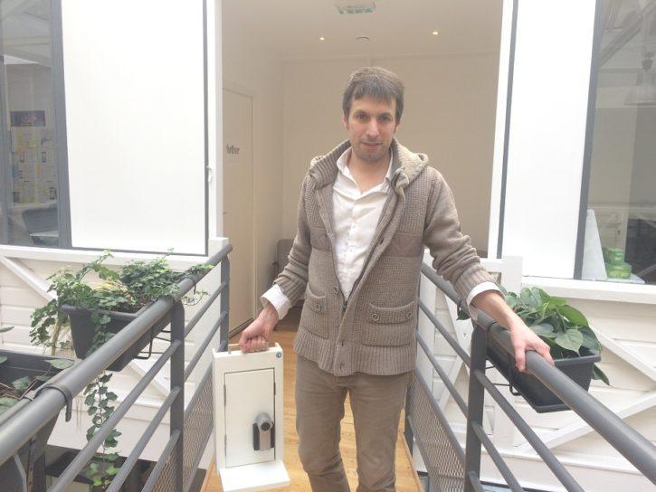 the keys serrure connectée crowdfunding Arnaud Decherf
