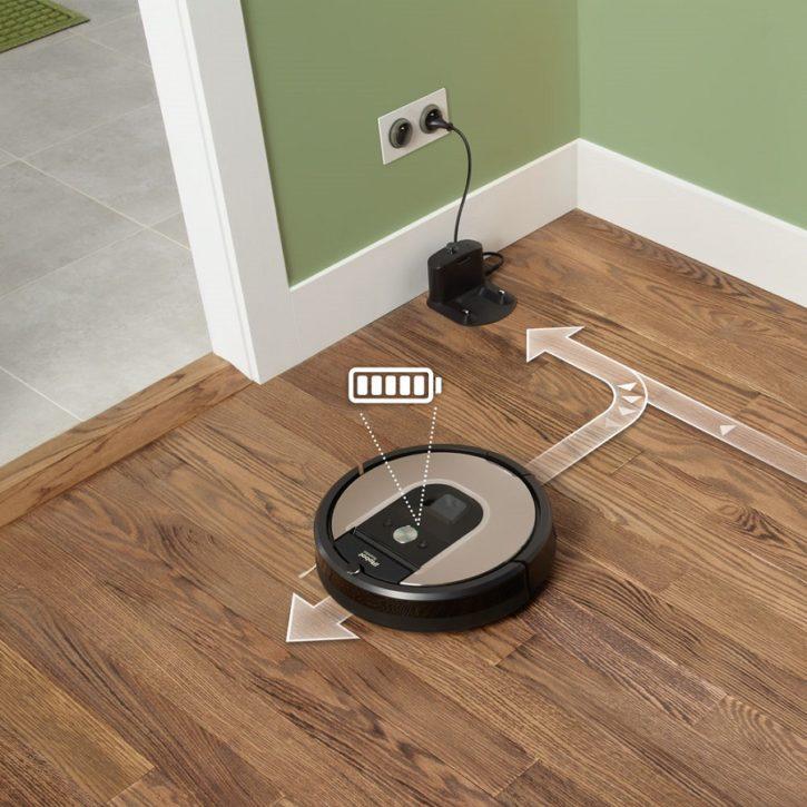 Test IRobot Roomba application station base