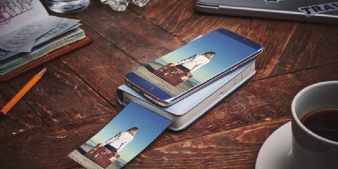 image stamp imprimante smartphone photos