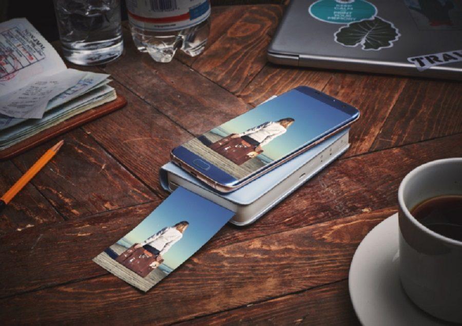 image stamp imprimante smartphone