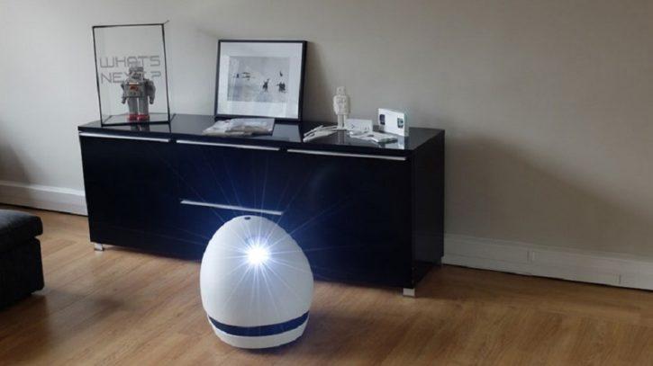 keecker robot domestique