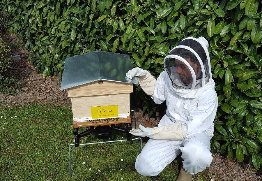 label abeille ruche connectée