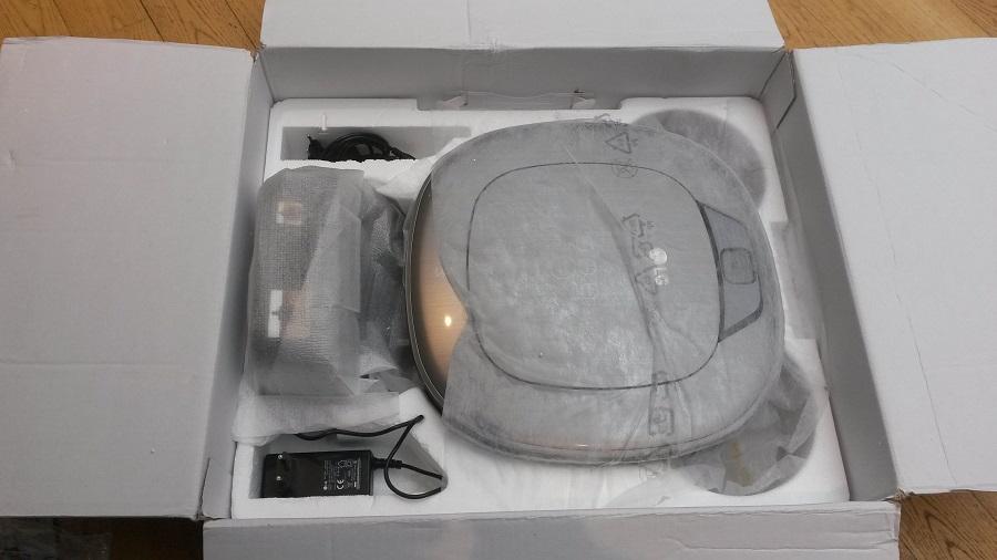 LG HOM-BOT unboxing etage 2
