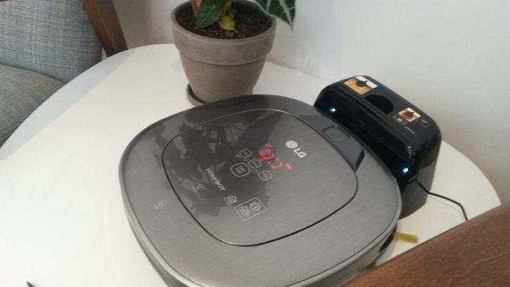 LG Hom-Bot Turbo plus Design et Ergonomie
