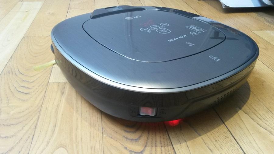 LG Hom-Bot Turbo plus utilisation sans l'application