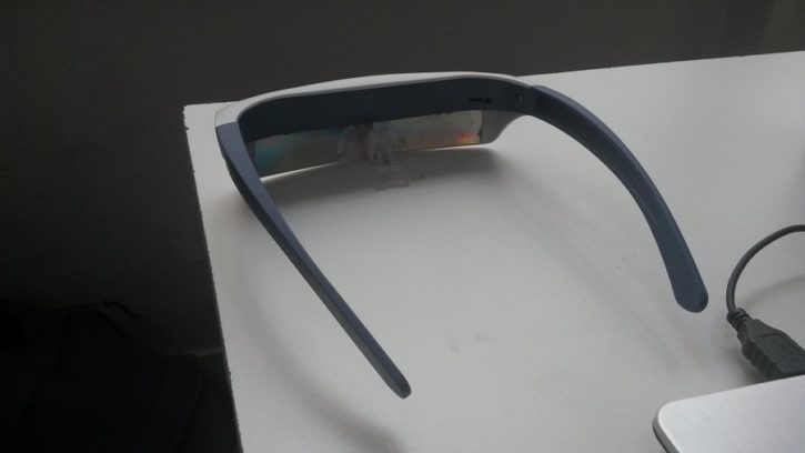 Luminette Test Design et Ergonomie vue de dos