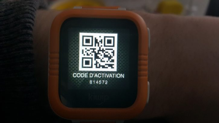Test Installation Kiwip Watch QR Code jumelage