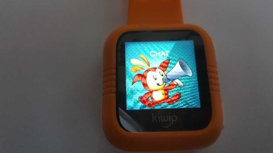 test Kiwip Watch Application Chat