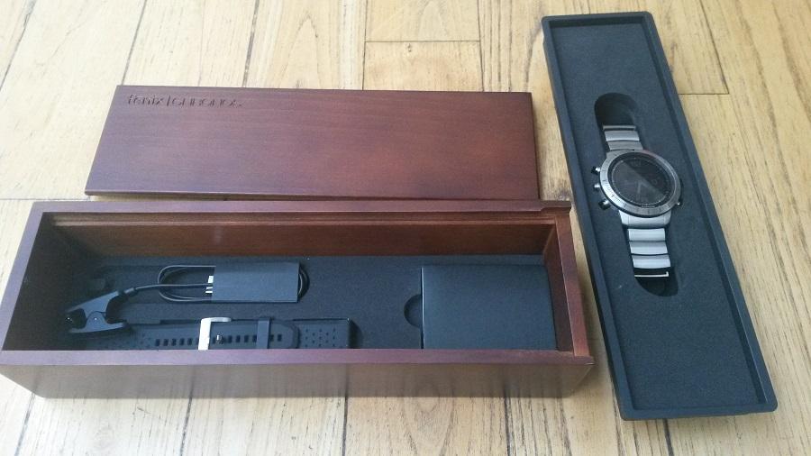 Test Montre Garmin Fénix Chronos Design et Ergonomie montre & accessoires