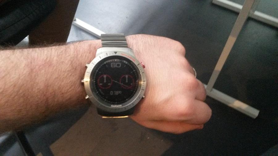 Test Montre Garmin Fénix Chronos Utilisation Sport