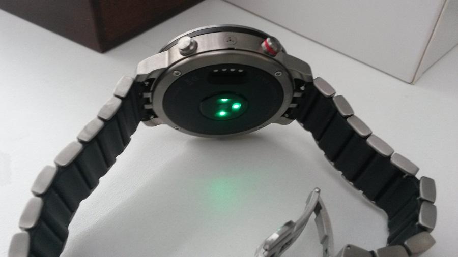 Test Montre Garmin Fénix Chronos Utilisation capteur cardiaque