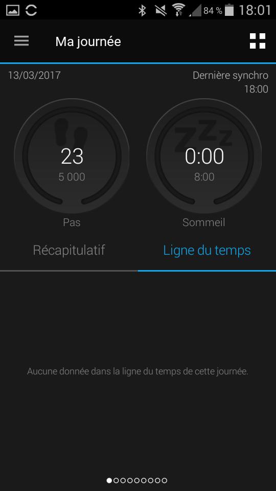 Test Montre Garmin Fénix Chronos application menu principal