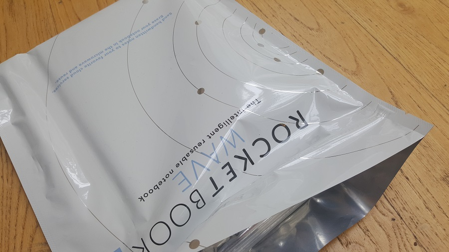 test unboxing Rocketbook système ouverture