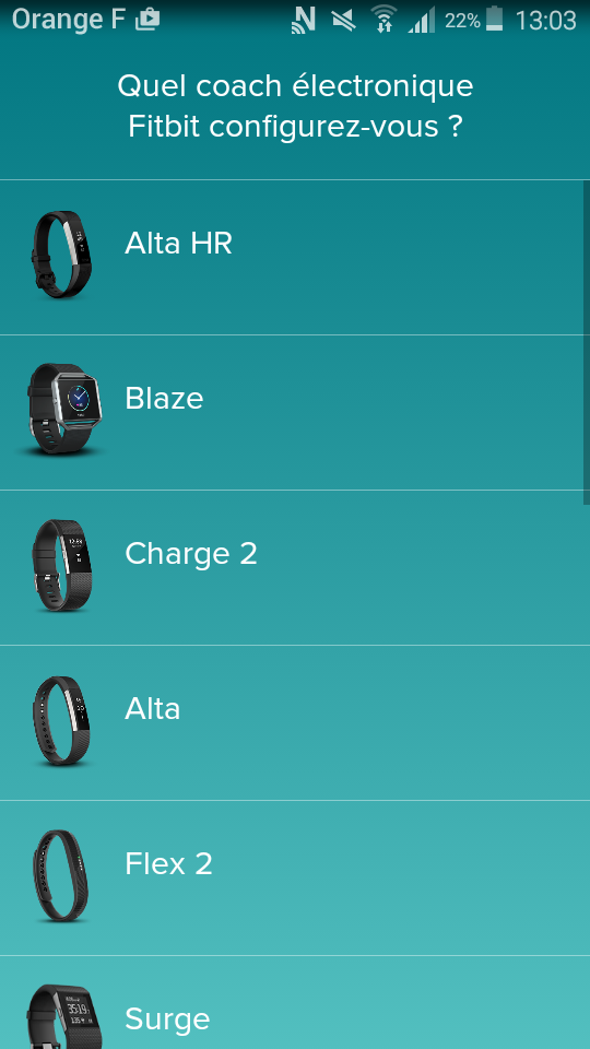 test fitbit alta hr application choix du modele