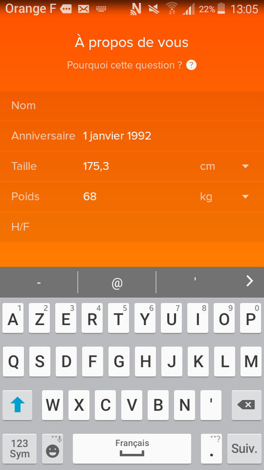 test fitbit alta hr application profil
