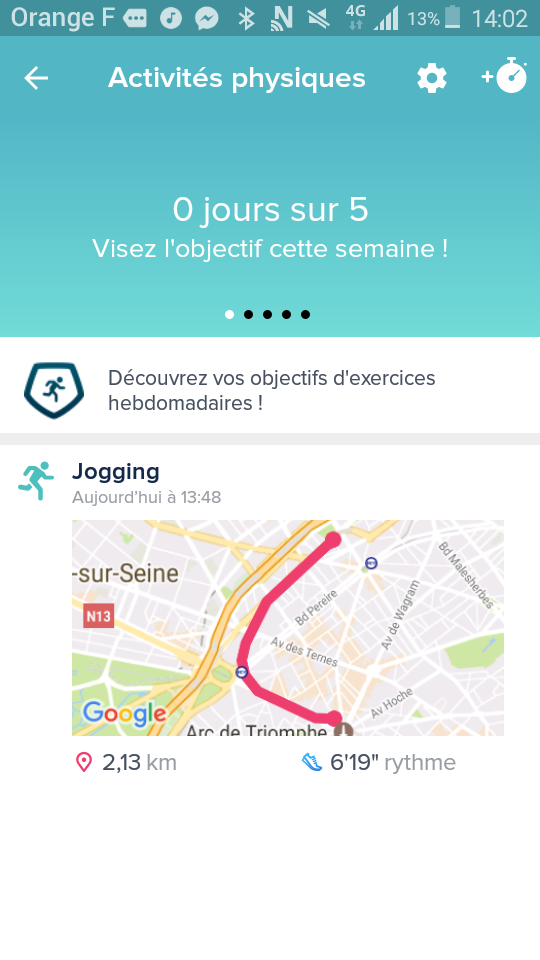 test fitbit alta hr application gps