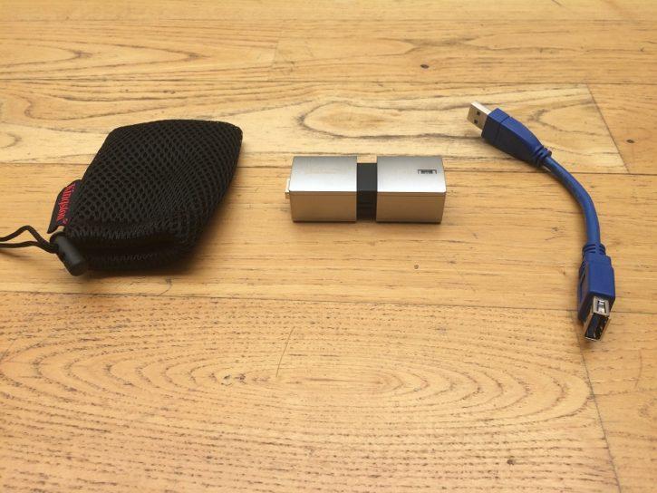 Test Kingston Data Traveler Ultimate GT Unboxing équipements et accessoires