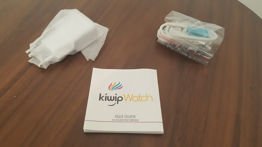 Test Unboxing accessoires déballés Kiwip Watch