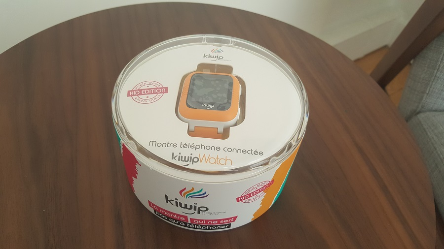 Test Unboxing Kiwip Watch montre connectée Bluetooth