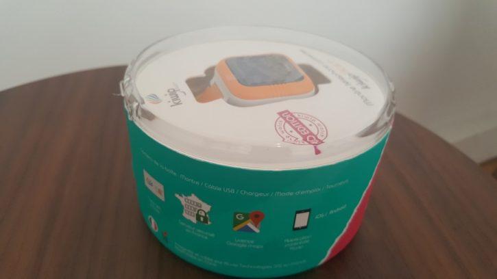 Test Unboxing Kiwip Watch fonctionnalité annexe serveur sécurisé Gmaps