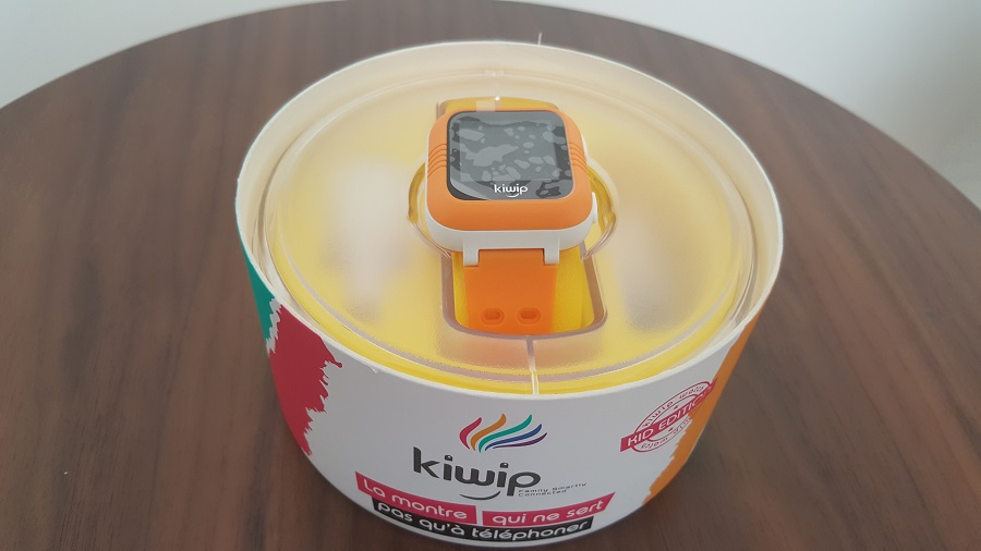 Test Unboxing Kiwip Watch support montre connectée boîte
