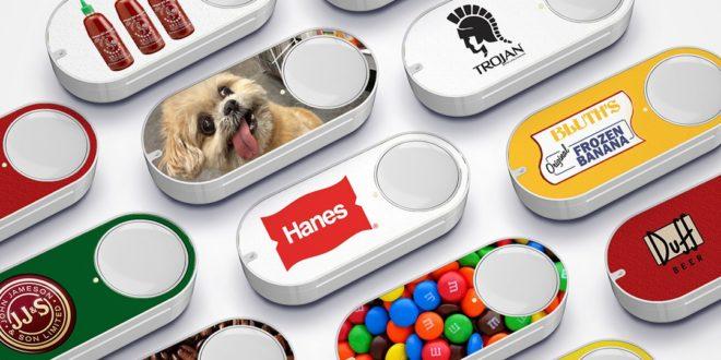 les boutons Amazon Dash