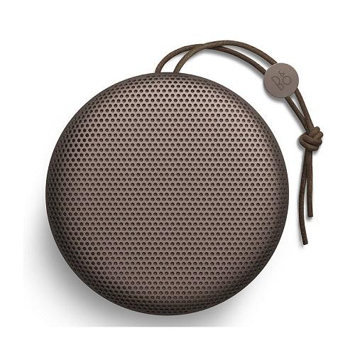 Test design ergonomie Enceinte Beoplay A1 Bluetooth couleur verte