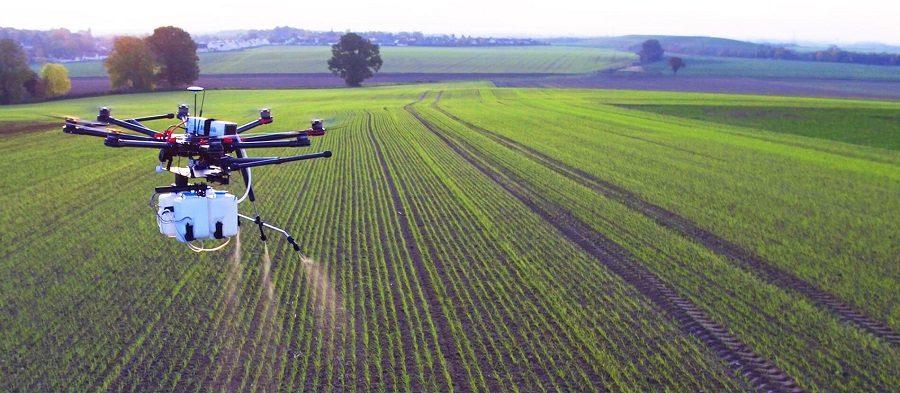 drone agriculteur connecté