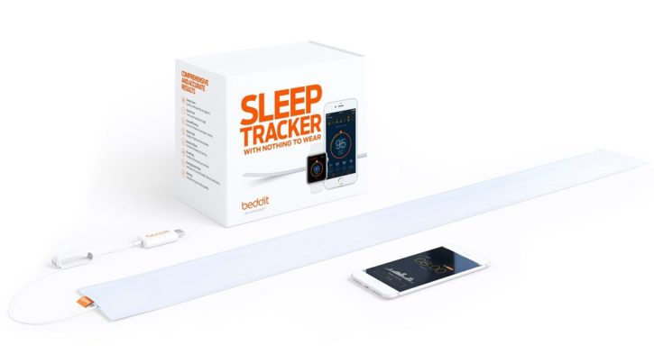test Beddit 3 Sleep tracker officielles packaging boîte