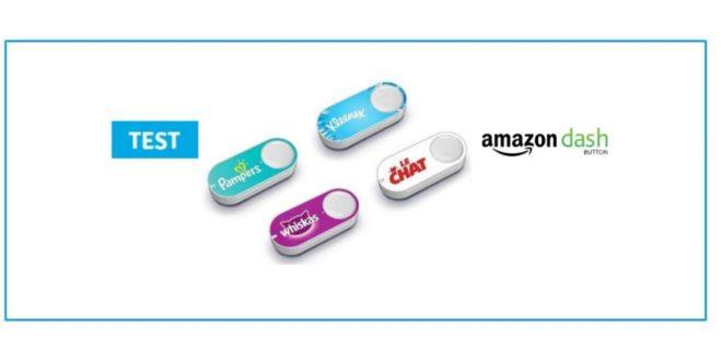 dash button amazon test bouton connecte