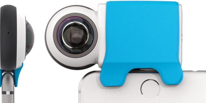Giroptic iO caméra 360 image une branchement Iphone
