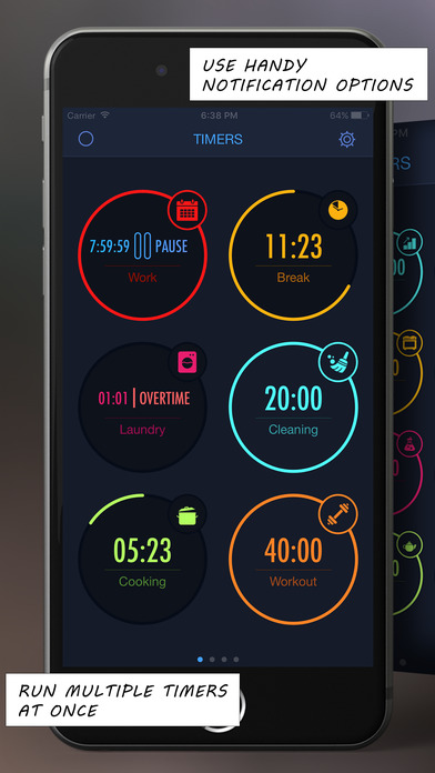 multitimer applications apple watch