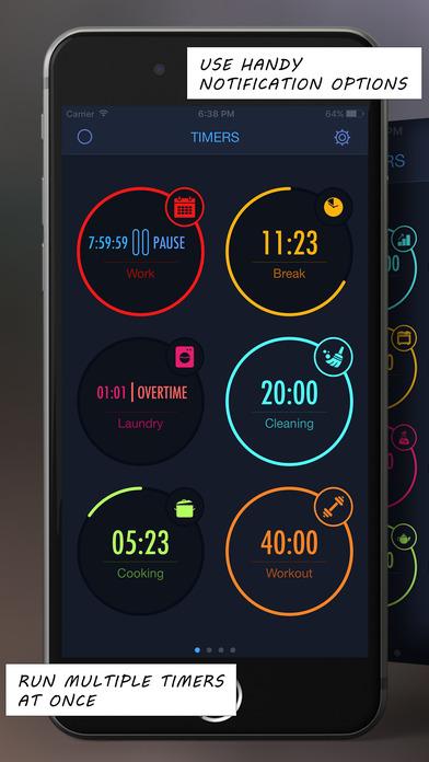 multitimer applications apple watch