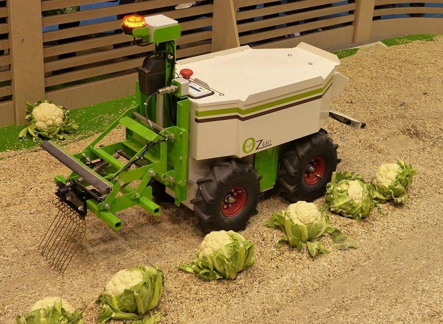 robot agriculteur connecté