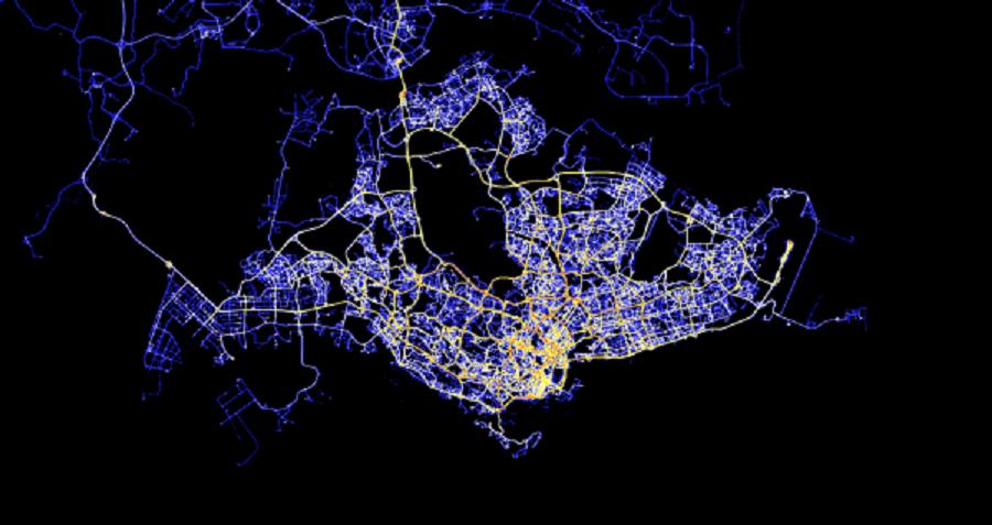 singapour ville connectée en 2017